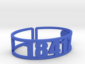 Blue Ridge Zip Cuff in Blue Processed Versatile Plastic
