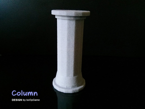 boOpGame Shop - The Greek Doric Column in Full Color Sandstone