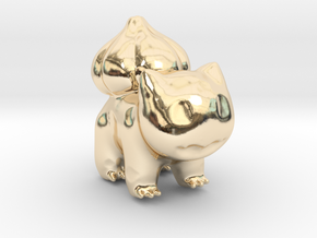 Bulbasaur in 14K Yellow Gold