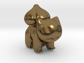 Bulbasaur in Natural Bronze