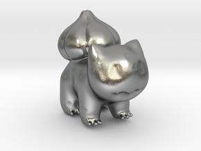 Bulbasaur in Natural Silver