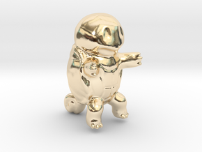 Squirtle in 14K Yellow Gold