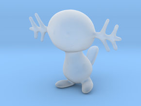 Wooper in Smooth Fine Detail Plastic