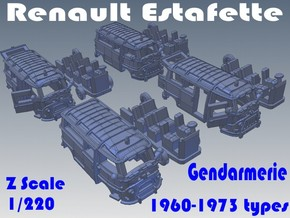 1-220 R-Estafette Gendarmerie SET in White Strong & Flexible