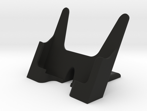 mobile phone desk holder in Black Natural Versatile Plastic
