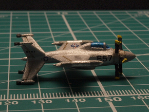 Lockheed XFV-1 6mm 1/285 in White Strong & Flexible