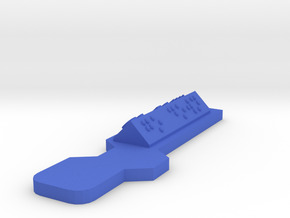 Hour of Code : Action-Go Down in Blue Processed Versatile Plastic