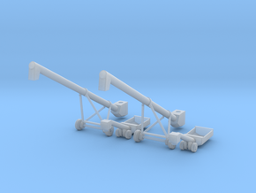 MK100x40 Truck Loader Augers TT Scale in Smooth Fine Detail Plastic
