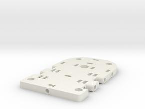 Pad Pod/Dolly in White Natural Versatile Plastic