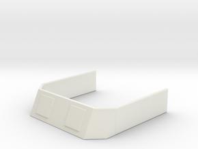 1/500 Scale DLG-10 Missile in White Natural Versatile Plastic