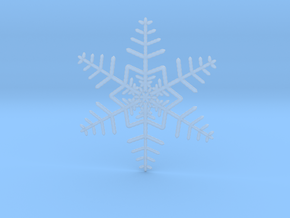 Fine Snowflake in Smooth Fine Detail Plastic