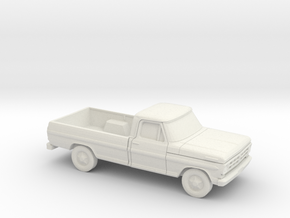 1/87 1972 Ford F-Series Reg. Cab in White Strong & Flexible