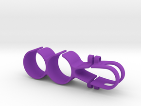 Pit Stop Holder Seatpost Inline  in Purple Processed Versatile Plastic