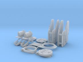 6 SEC MOUNT CUSTOM ORDER 4 in Smooth Fine Detail Plastic