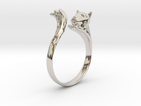 Silvercat Ring in Platinum: 8.5 / 58
