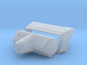 M50 Mantlet and Collar in Smooth Fine Detail Plastic