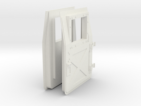 1:6 scale Hasbro HMMWV Doors in White Strong & Flexible