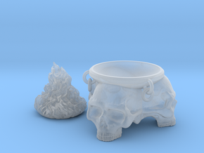 Brazier. Brazier with skulls and removable flames. in Smooth Fine Detail Plastic