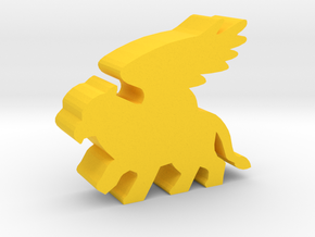 Game Piece, Griffin in Yellow Strong & Flexible Polished