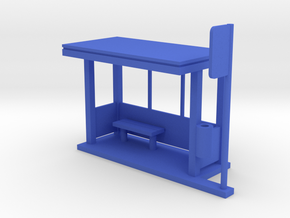 MOF BusStop Open[72-1] in Blue Strong & Flexible Polished