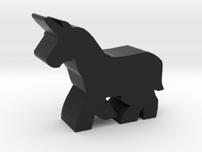 Game Piece, Unicorn in Black Strong & Flexible