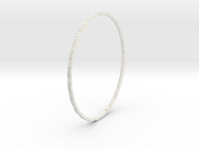Ring World (upsized for Callamon 2) in White Natural Versatile Plastic
