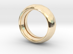DRAGON SKIN in 14K Yellow Gold