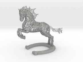 Rocinante Horse Sculpture in Aluminum