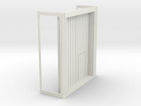 Z-76-lr-warehouse-base-plus-door-1 in White Natural Versatile Plastic
