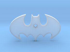 Batman Keychain in Smooth Fine Detail Plastic