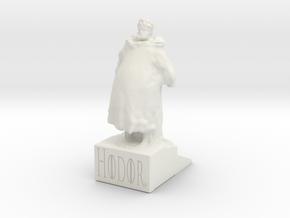 HODOR Doorstop - GoT  in White Natural Versatile Plastic