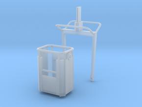 P 100-8 Arbeitskorb 1:87 H0 in Smooth Fine Detail Plastic
