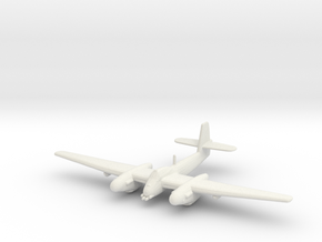 Westland Welkin with bombs 1:200 WSF in White Natural Versatile Plastic
