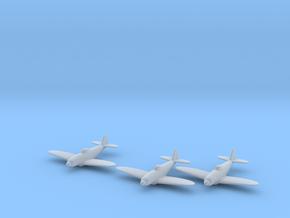 Republic XP-72 1:285 x3 FUD in Smooth Fine Detail Plastic