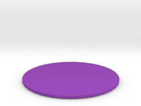 Class C Airspace in Purple Processed Versatile Plastic