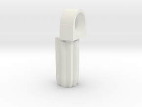 SWIVEL JOINT FEMALE in White Natural Versatile Plastic