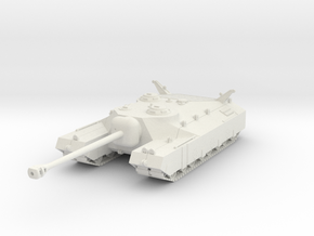 PV120A T28 Super Heavy Tank (28mm) in White Strong & Flexible