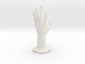 Hand in White Natural Versatile Plastic