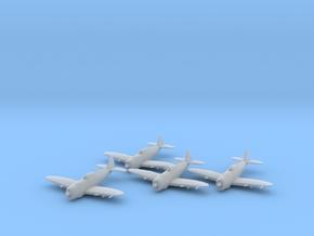 Republic P-47 'Thunderbolt' Razorback 1:200 x4 FUD in Smooth Fine Detail Plastic