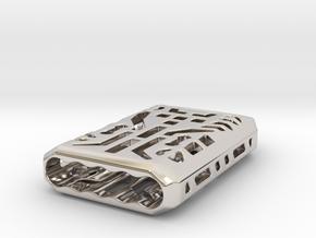 Digital Lantern X5: Tritium (all Materials) in Rhodium Plated Brass