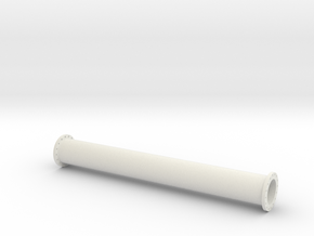 1:50 Steel Pipe Cargo in White Natural Versatile Plastic
