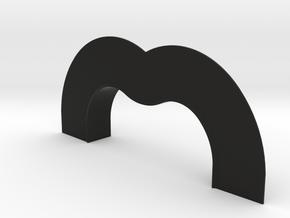 TK&A GROMMET WITH MUD FLANGE in Black Natural Versatile Plastic