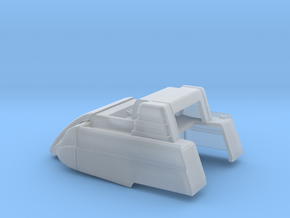 1/64 Modern Baler Upper Body in Smooth Fine Detail Plastic