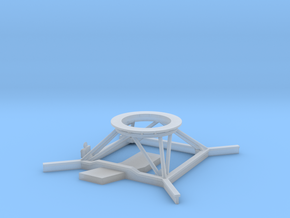 1/72 scale famous class radar stand in Smooth Fine Detail Plastic