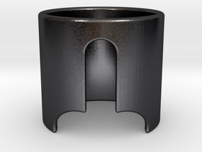 LUI in Polished and Bronzed Black Steel