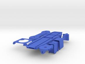 Skidmark Tri v3 in Blue Processed Versatile Plastic