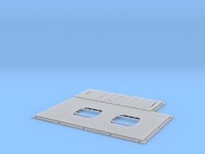 DeAgo Millennium Falcon Floor Replacement in Smooth Fine Detail Plastic