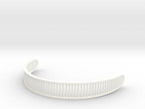 Star Trek Visor Lens in White Processed Versatile Plastic: Small