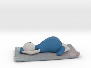 Yoga Pose 6 - 1028N in Full Color Sandstone