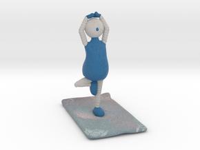 Yoga Pose 1 - 1027N in Full Color Sandstone